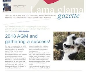 Lama Glama Gazette: Issue 1 Vol 1 2018