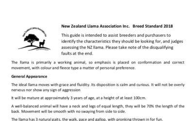 Breed Standard 2018